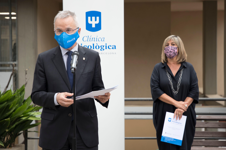 La Clínica Psicològica Universitat de Barcelona abre sus puertas en el Campus Mundet