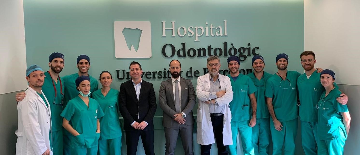 Taller intensivo de cirugía implantológica avanzada en el l'Hospital Odontològic Universitat de Barcelona