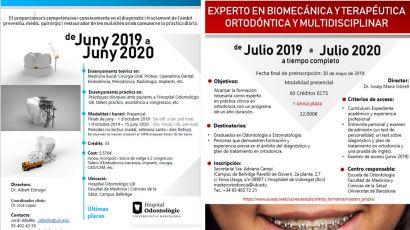 Arrancan dos nuevos cursos de Odontología con práctica clínica en el Hospital Odontològic Universitat de Barcelona
