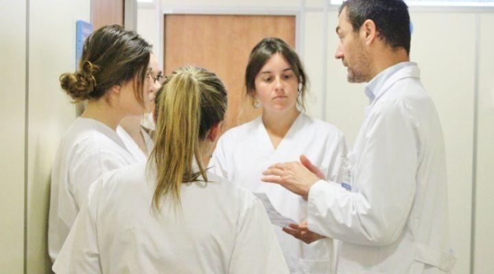 l'Hospital Podològic Universitat de Barcelona dona la benvinguda a nous/ves alumnes