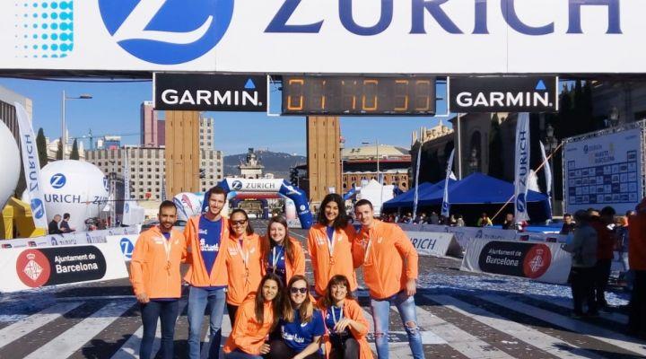 Un any més, a la Zurich Marató de Barcelona