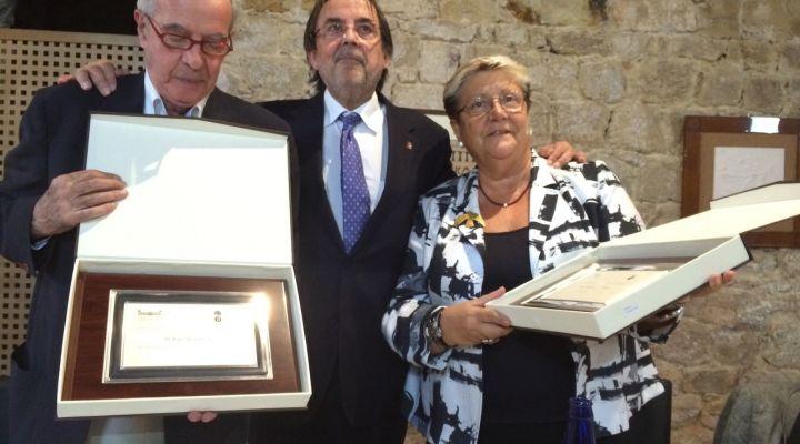 Acte d'homenatge de la Fundació Josep Finestres a la Dra. Virginia Novel Martí i al Dr. Joan Salsench Cabré amb motiu de la seva jubilació
