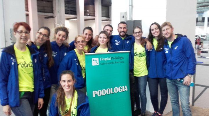 L'Hospital Podològic Universitat de Barcelona col·labora en la Zurich Marató de Barcelona