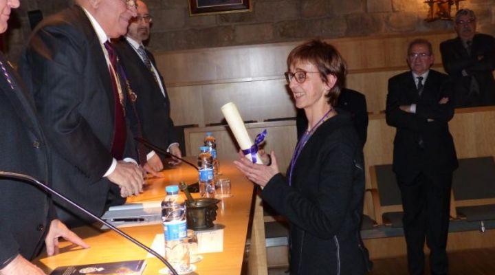 Dra. Silvia Sánchez, nou membre de la Reial Acadèmia de Farmàcia de Catalunya