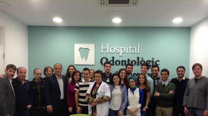 Conferència del Dr. Gustavo De Deus a l'Hospital Odontològic Universitat de Barcelona